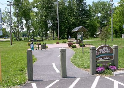 At Park and Ride Lot on Hawksbill Greenway Luray VA