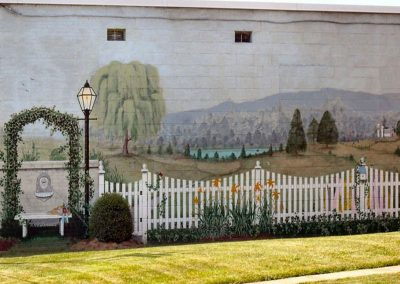 Garden Mural on Cave Street Luray VA