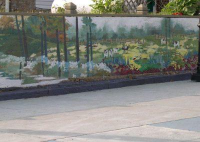 Pasture Scene Luray Mural on Ruffner Plaza