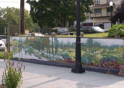 Pasture Mural on Ruffner Plaza