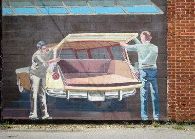 Ford Motors Luray Mural
