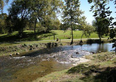 Hawksbill Creek along the Greenway in Luray VA