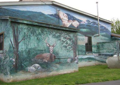 Luray Murals Greenway Honoring 9-11