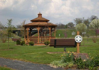 Luray Garden Club Memorial Park Gazebo on Greenway