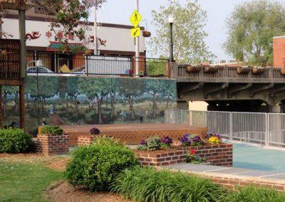 Luray Murals on Ruffner Plaza