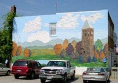 Luray Murals at Uncle Bucks Restaurant
