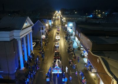 Christmas Parade Aerial Shots by Derrick Wood3