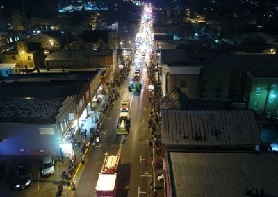 Christmas Parade Aerial Shots by Derrick Wood7