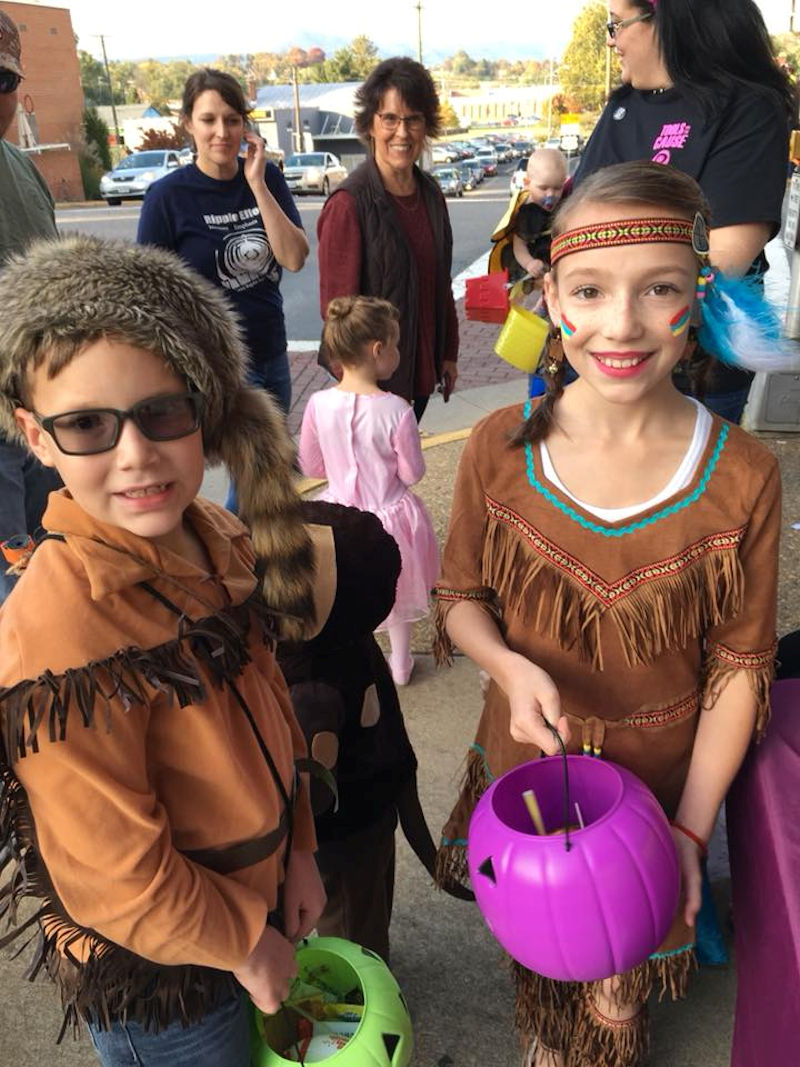 Halloween Fun in Downtown Luray VA