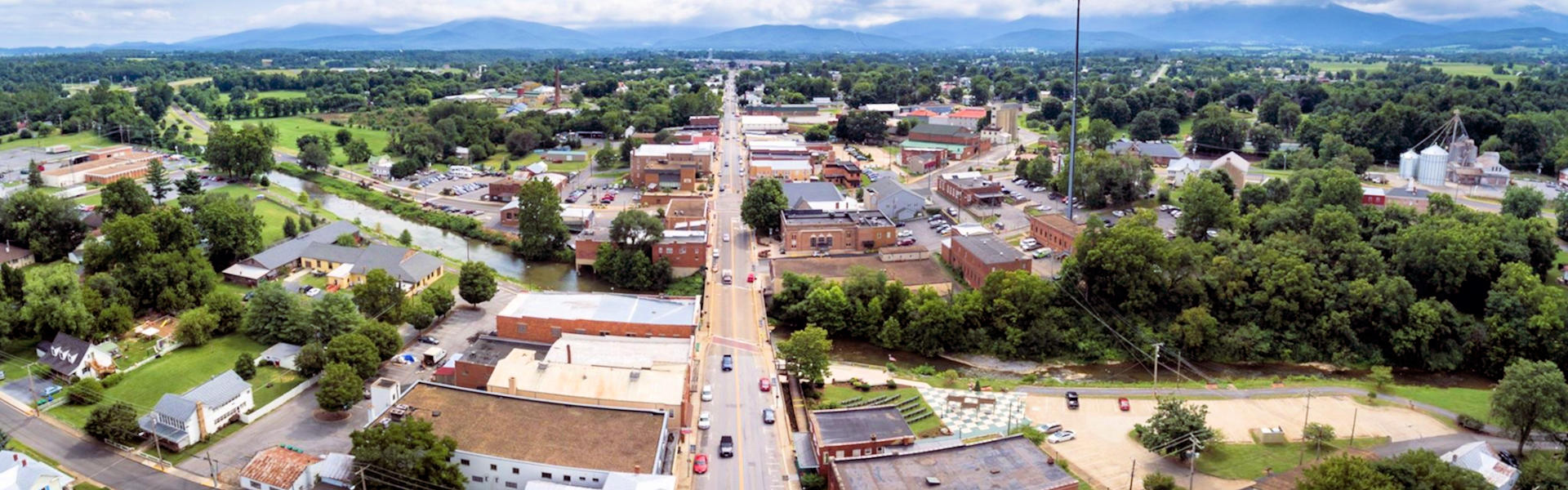 Dusk in downtown Luray VA | Luray Downtown Initiative