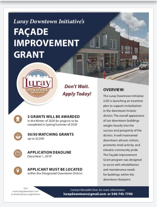 Facade Improvement Grant